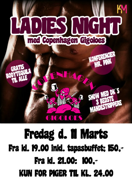 Ladies Night på KarenMaren