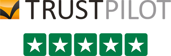 Five Star Trustpilot Badge